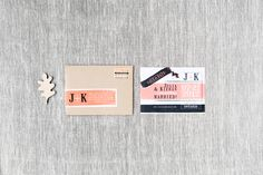Julia & Kieran - Paper & Poste Custom Save the Date Custom Invitations, Save The Date, Paper