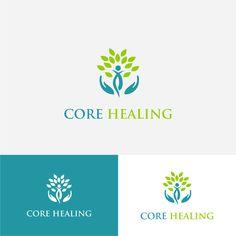 Core Healing - Design a abstract logo for a holistic healing center Custom Logo Design, Custom Logos, Graphic Design, Logo Abstrait, Tienda Natural, Education Logo, Education Quotes, Education Today, Elementary Education