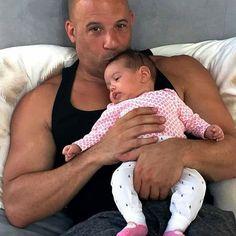 Vin Diesel & his daughter Pauline