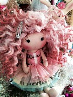 Veruca doll maker handmade.....(adorable! love the hair!)....