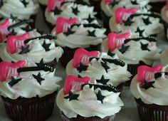 A Sweet Cake » Search Results » Guitar Cupcakes