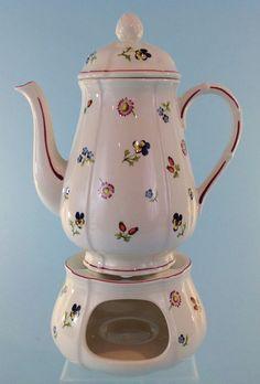 Villeroy & Boch Coffee Pot with warmer Petite Fleur