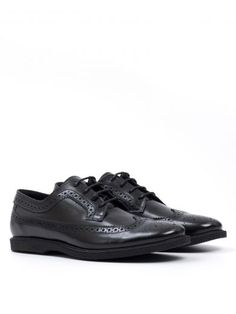 HOGAN Derby Shoes In Brushed Leather. #hogan #shoes #https: