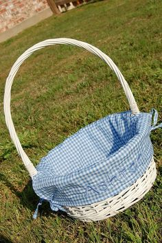 A personal favorite from my Etsy shop https://www.etsy.com/listing/180958422/large-white-wicker-easter-basket-with