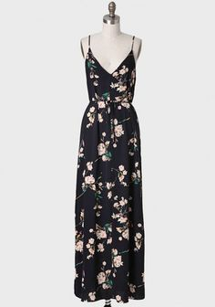 Thing Of Beauty Floral Maxi Dress | Modern Vintage New Arrivals