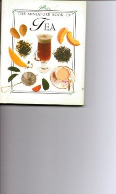 Tea The Miniature Book of Tea -- You can get more details by clicking on the image. (This is an affiliate link)