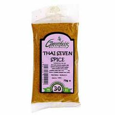Thai 7 Spice - Greenfields - 75g