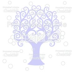 Swirl Heart Tree Free Cuttable SVG File - Includes Limited Commercial Use License! Free SVG Files, SVG, Cricut Explore, Cricut, Silhouette, Silhouette Cameo, Silhouette Portrait, Free SVG cuts, Eclips, Cutting Files, Make the Cut, Sure Cuts a Lot, SCaL, and other electronic craft cutting machines for scrapbooking, card making, paper crafting, and more!