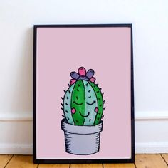 This cactus is so adorable! It's perfect in a nursery, study or as home decor? Why not give it as Christmas present? Www.lumisadesign.nl
