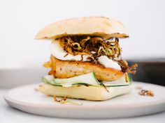 Spicy Honey Chicken Sandwich w/Crispy Fennel Chips Recipe — Fix Feast Flair