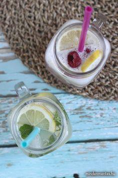 Mindenmentes limonádé - kristálytiszta ivóvízzel - Nóri mindenmentes konyhája Minden, Sugar