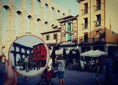 Bordado del Acueducto de Segovia