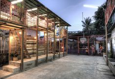 Klong Toey Community Lantern Location: Klong Toey, Bangkok, Thailand Client: Klong Toey Community Project: Public space Cost: 35.000 NOK / 5.800 USD Building period: March – April 2011 Built by: TYIN, students and local community