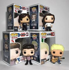 One Direction custom Funko Pops by White Star Customs Custom Funko Pop, Pop Toys, Pop Collection, One Direction Memes, Pop Vinyl Figures, 1d And 5sos, Cool Bands, Harry Styles, Mickey Mouse