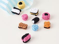 Mollie Makes Allsorts sweets crochet pattern