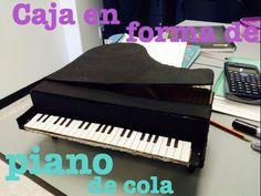 Regalo para mi novio - Caja en forma de Piano - YouTube