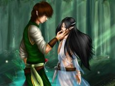 in Elesmera, Eragon and Arya