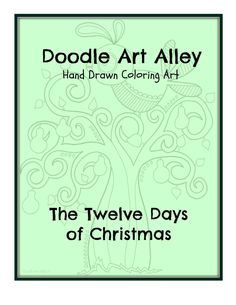 ... Pinterest   Twelve Days Of Christmas, Christmas Coloring Pages a