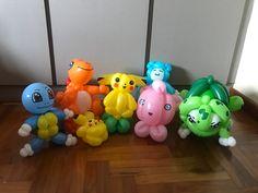 Pokemon Balloons, Balloon Face, Balloon Pictures, Balloon Decorations, Pikachu, Pattern, Patterns, Model, Balloon Centerpieces