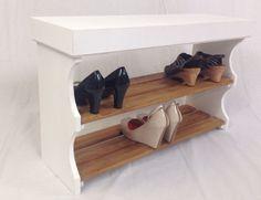 Bespoke Solid Pine Shoe Rack