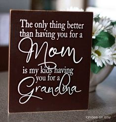 This is exactly how I feel about my mom! She would have been the absolute best G'ma to my kids. No one could ever, I mean ever fill her shoes! I was so lucky to have my mom with me for 30 years, I only wish my own children could have met and loved her!