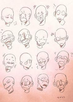 Expression meme art tips drawing expressions, drawings, art Cartoon Sketches, Cartoon Art Styles, Art Drawings Sketches, Funny Drawings, Cartoon Ideas, Drawing Cartoon Faces, Pencil Drawings, Funny Sketches, Kawaii Drawings