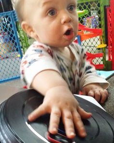 The look you make when you learn a new scratch! #baby #daddylittledj #osvaldo #cutie #babyfun #usguys #dadsofinstagram #lovemyson #fathersofinstagram #daddysboy #grow #growuptoofast #stayhealthy #daddylife #daddydjs #daddykoldkuts #daddylife #scratch #connecticut #fadermovesfast #fadermovements #bazinga #turntablism #turntables #scratching #djhero by koldkuts80 http://ift.tt/1HNGVsC
