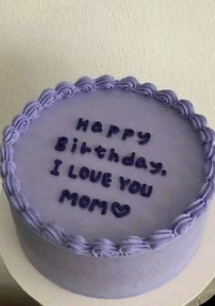 Pretty Birthday Cakes, Pretty Cakes, Beautiful Cakes, Cake Birthday, Birthday Cake Decorating, Mini Cakes, Cupcake Cakes, Korean Cake, Pastel Cakes