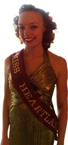 Miss Heartland Swing ready for the Swinger's Ball 2012!