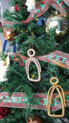 Ángeles de pino ideales para decorar