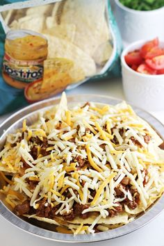 sloppy joe nachos sloppy joes nachos with tostitos tortilla chips g 7 ...