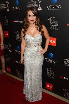 Daytime Emmys 2013 Red Carpet: Kristen Alderson #RedCarpet