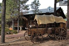 """Oregon Trail addicts, this one's for you - """"The Chuck Wagon Cabin"""" in Arizona, from $100 a night. #bedandbreakfasting"""