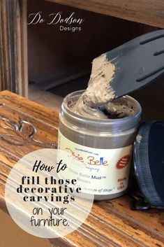 The Best Wood Filler I'Ve Ever Used For Painted Furniture Dododsondesigns - USdecor