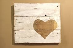 """This piece of art consists of three reclaimed pallet boards that have been cut, sanded, painted and stained and then distressed even more. Dimensions: are 18.5"""" wide by 16"""" tall. Would you like a different color scheme? If so, message us and we can provide you with a custom order (delivery time may be extended). Every item can be duplicated but keep in mind each board is different and the end results may be a little different. That is why each piece is so unique!!***"""