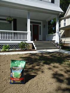 Seeding a New Lawn with Pennington Seed's Smart Seed :: Building Moxie Water Saving Tips, Bountiful Garden, Types Of Grass, Lawn Care Tips, Lawn Sprinklers, Lawn Maintenance, Grass Seed, Green Lawn, Amazing Flowers