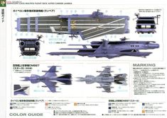 Lambea multi-deck carrier model kit | CosmoDNA