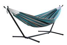 NEW for 2017! Token Surfside Sunbrella Fabric Hammock & Stand Combo
