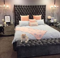 Beds from Covet House offers a curated selection of design pieces, in a wide range of styles. Glam Bedroom, Cozy Bedroom, Master Bedroom, Bedroom Decor, Bedroom Ideas, Dream Decor, Luxurious Bedrooms, Beautiful Bedrooms, New Room