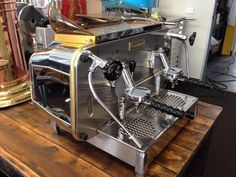 Faema E61 Legend 2 Group Semi Auto Espresso Machine Melbourne - UsedCoffeeGear.com - Buy and sell used coffee machines and equipment