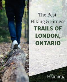 "Summer is not over -- yet!  Check out my summary of the amazing trails in London, Ontario for hiking, running and mountain biking -- and for soaking up some ""Vitamin N"" in the Forest City!"