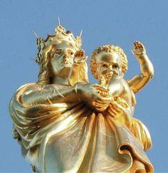 The Madonna of Notre Dame de la Garde, Marseille
