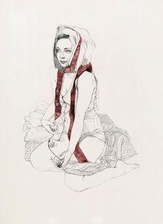 Drawings by artist Soey Milk.