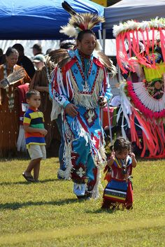 My good friend and fellow veteran Mike Richardson, (Haliwa-Saponi)     Look At Child Dance by Tobyotter, via Flickr