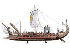 Roman Bireme (31 B.C.)