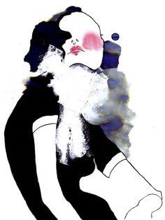 Carla's Fashion Blog !!: Amelie Hegardt's Illustration Technique