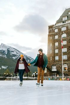 There are some truly Epic Spots for Skating in Banff National Park! From wild skating on frozen lakes encircled by glaciers to taking a twirl on a charming rink outside The Castle in Rockies, there's not shortage of options for ice skating in #Banff #BanffCanada #BanffNationalPark #BanffCanadaWinter #BanffThingsToDo #SkatinginBanff #IceSkating #WildIceSkating #LakeLouiseCanadaWinter #CanadaWinter Travel Guides, Travel Tips, Montreal Travel, Alberta Travel, Vancouver Travel, Ontario Travel, Banff Canada, Road Trip Adventure, Visit Canada