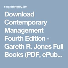 Download mrs funnybones twinkle khanna full books pdf epub mobi download contemporary management fourth edition gareth r jones full books pdf epub free ebooksmanagementpdf fandeluxe