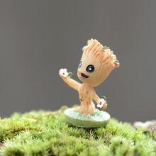 Animie árbol de hadas Micro paisaje jardín artificial estatuilla tauromaquia y fotografía / terrario juguetes de decoración figurines accesorios de bricolaje(China (Mainland))