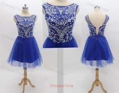 Hey, I found this really awesome Etsy listing at https://www.etsy.com/listing/158467504/royal-blue-homecoming-dress-short-prom